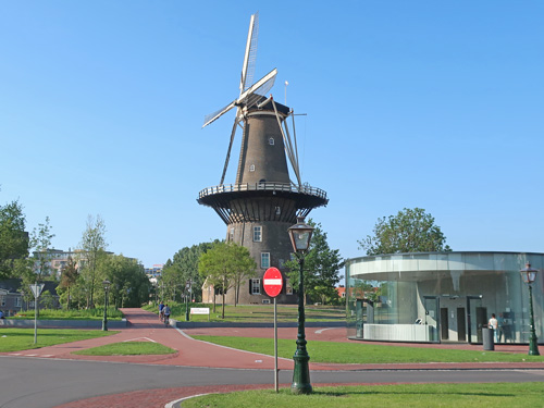 De Valk Windmill, Leiden Holland
