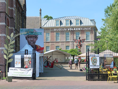 Ethnology Museum in Leiden Netherlands