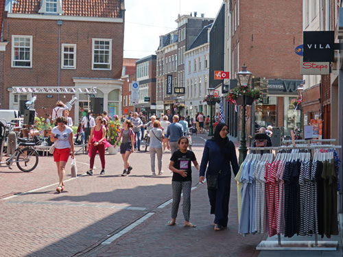 Popular Shopping Districts in Leiden Holland
